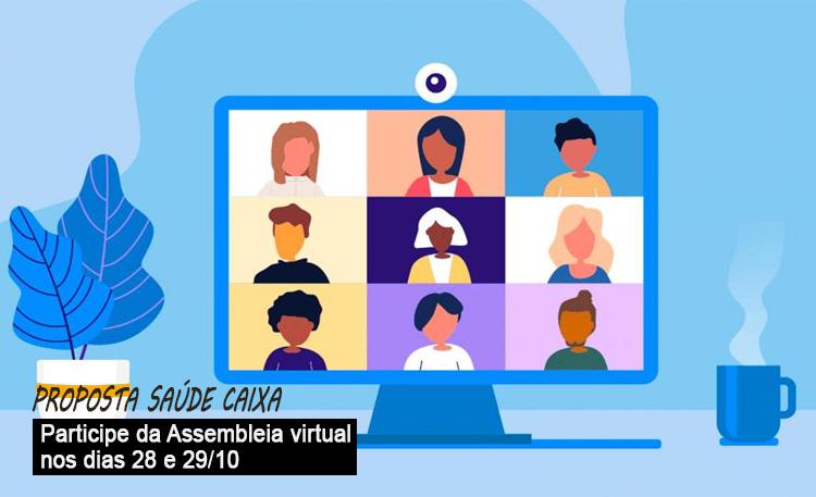 Assembleia dias 28 e 29/10 na base de Londrina delibera sobre o Saúde Caixa