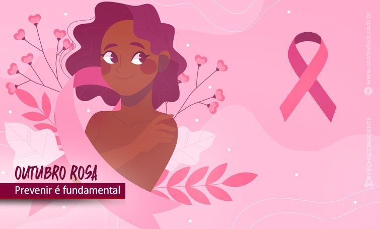 No Outubro Rosa, é fundamental fazer o exame da mama