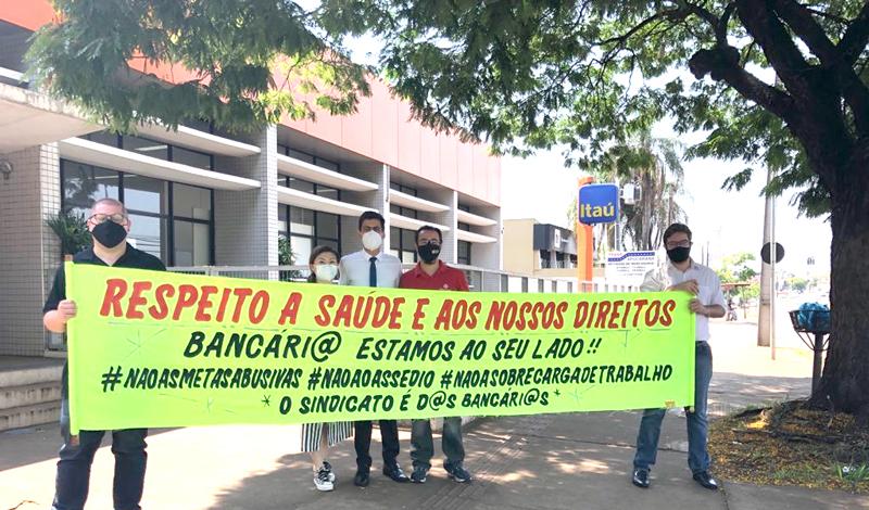 Bancário do Itaú vítima de assalto em Londrina é reintegrado