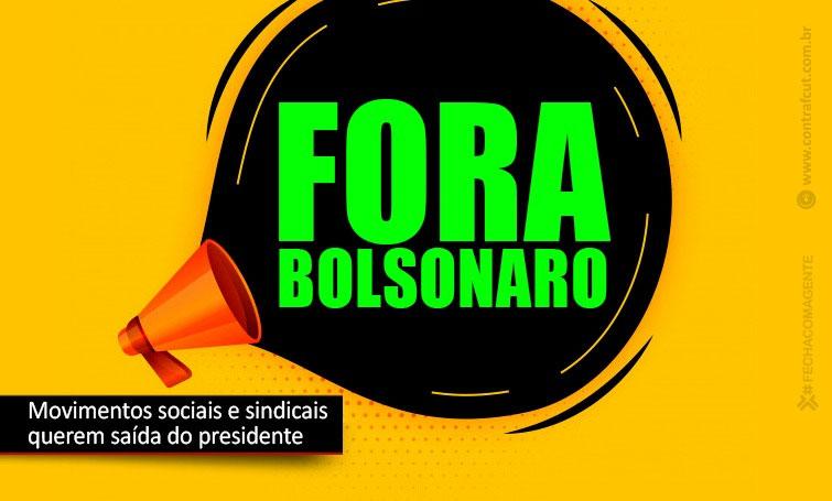 Bancários de todo o País participarão de Ato Nacional pelo Fora Bolsonaro