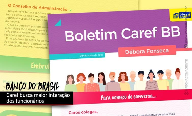 Caref amplia a comunicação com funcionários