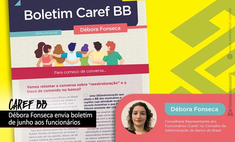 Caref distribui aos funcionários segunda edição do seu boletim