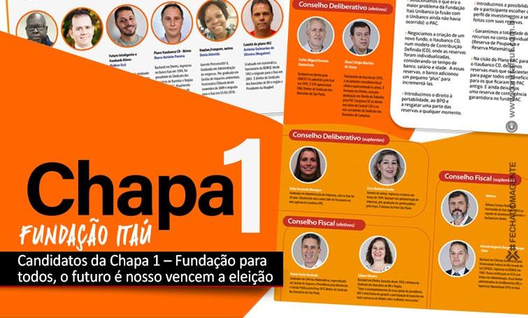 Candidatos da Chapa 1 vencem a eleições da Fundação Itaú