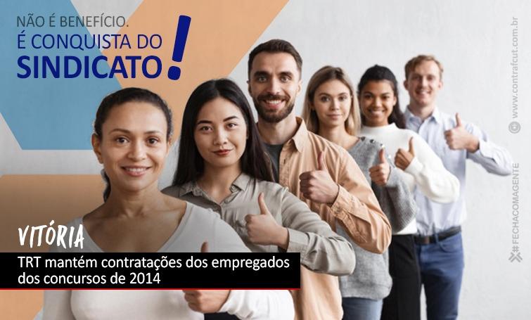 TRT mantém contratações dos empregados da Caixa dos concursos de 2014