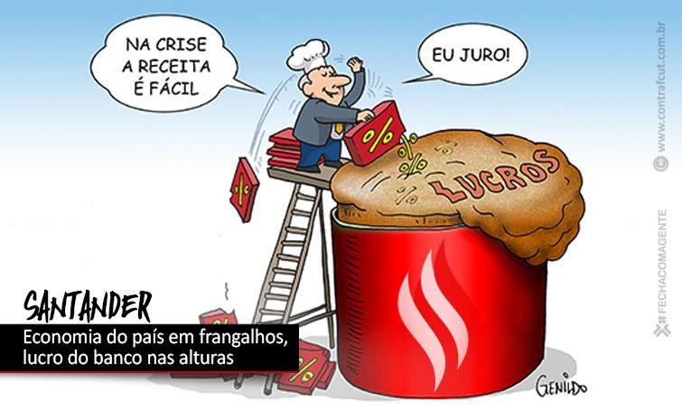 Lucro do Santander ultrapassa R$ 4 bilhões no Brasil