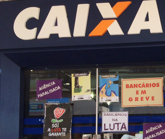 Empregad@ da Caixa: participe da paralisação do dia 27 para defender seus direitos
