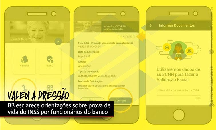 Banco do Brasil esclarece orientações sobre prova de vida do INSS