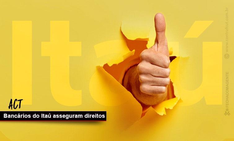 Assembleias dos bancários do Itaú aprovam ACTs específicos