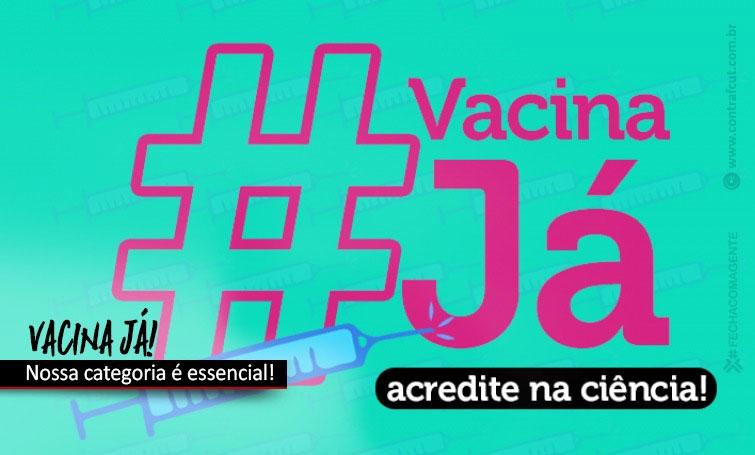 Contraf-CUT cobra dos bancos defesa da inclusão da categoria na prioridade da vacina