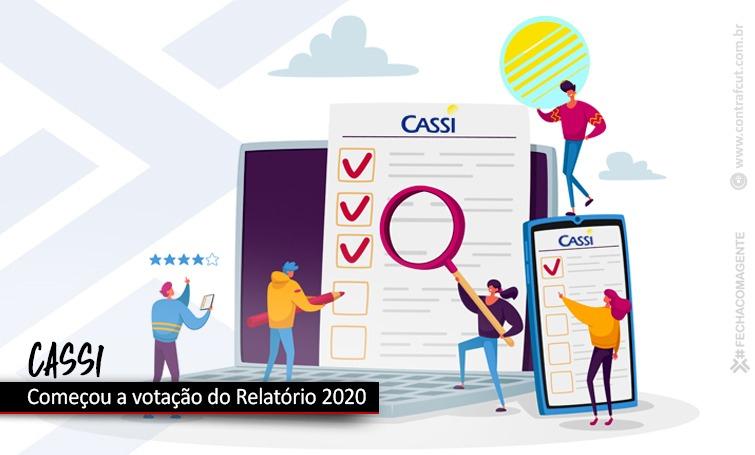 Associados votam Relatório 2020 da Cassi de 19 a 28 de abril