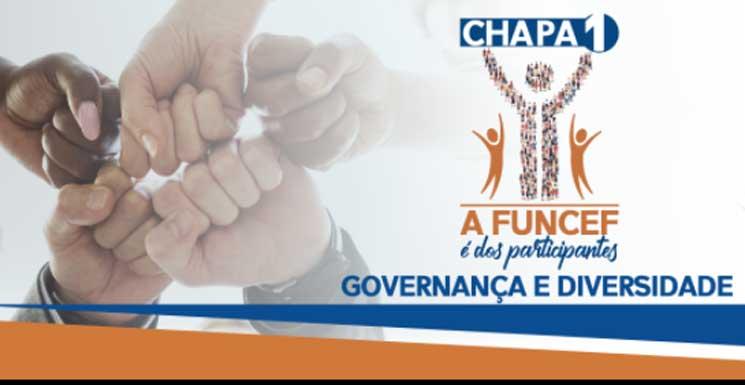Eleições da Funcef terminam neste sábado (24). Vote Chapa 1- A Funcef é dos participantes!