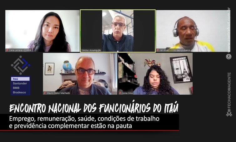 Funcionários debatem balanço do Itaú na abertura do Encontro Nacional
