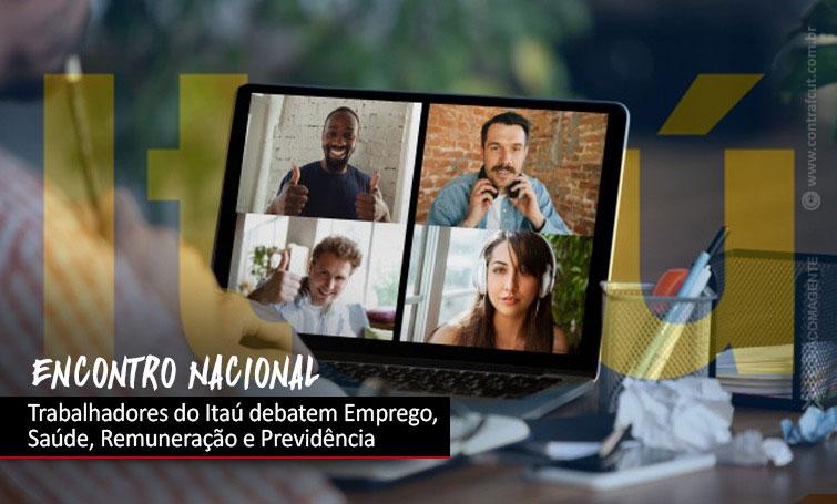 Encontro Nacional dos Trabalhadores do Itaú será realizado no dia 5 de agosto