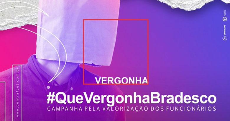 Contraf-CUT lança campanha de valorização dos funcionários do Bradesco