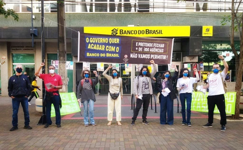 Atividades em Londrina convocam população para protestos do dia 24/07