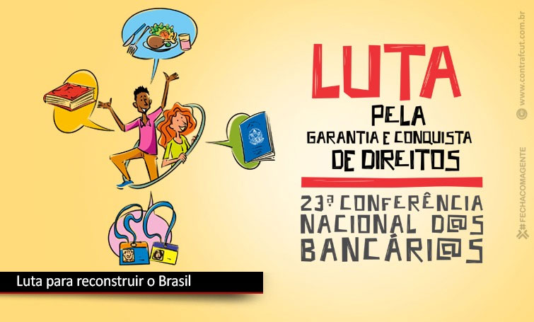 Quinta mesa da Conferência Nacional reafirma luta para reconstruir o Brasil
