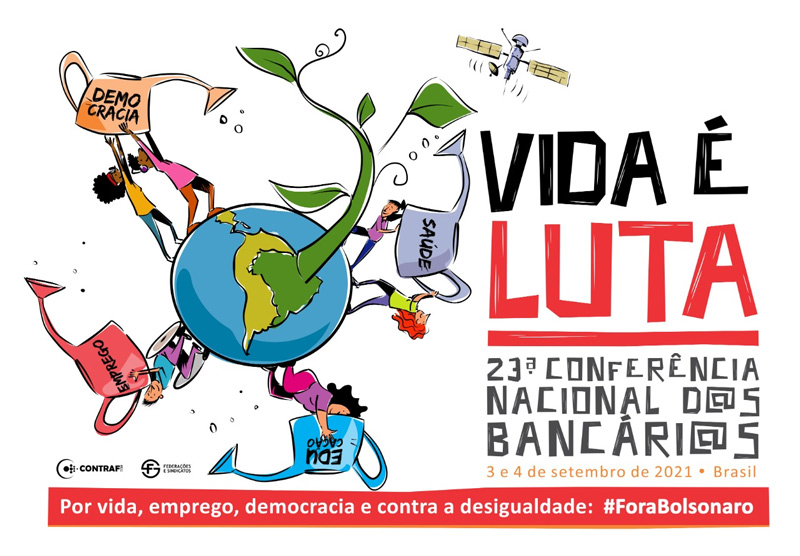 23ª Conferência Nacional d@s Bancári@s será iniciada às 16h55 desta sexta (3/09)