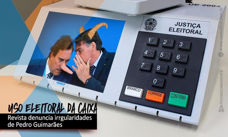 Revista IstoÉ denuncia utilização eleitoreira da Caixa