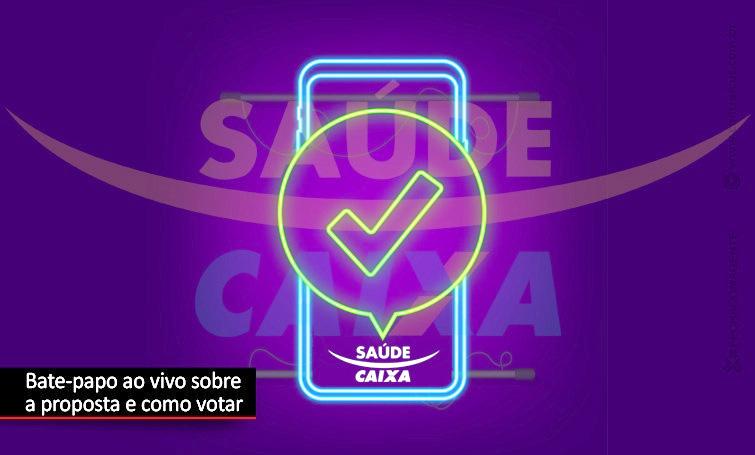 Live explica porque votar SIM na proposta do Saúde Caixa