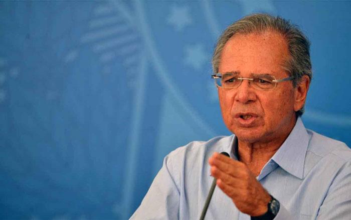 Guedes: Ministério da Economia atua para esvaziar os fundos de pensão fechados - Foto: Marcello Casal Jr./Agência Brasil