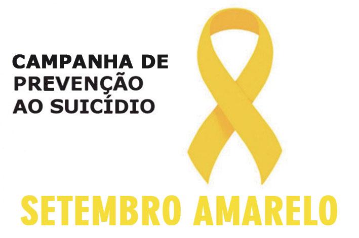 Campanha Setembro Amarelo previne casos de suicídio