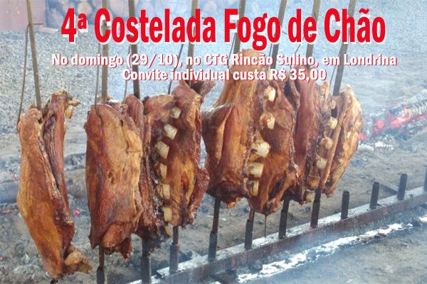 Convites podem ser adquiridos na Secretaria do Sindicato de Londrina e no Hospital do Câncer. No domingo também será vendido no CTG