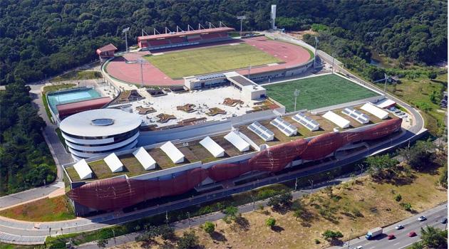 A cerimônia de assinatura do convênio entre a Caixa e o CPB ocorreu na sede da entidade, em São Paulo