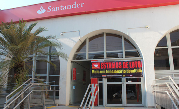 Santander explora mais os clientes e trabalhadores brasileiros