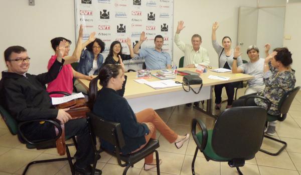 As reivindicações foram aprovadas por unanimidade na Assembleia do Sindicato de Apucarana