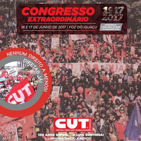 Começa hoje (16/06), em Foz do Iguaçu, a 15ª Plenária da CUT/PR