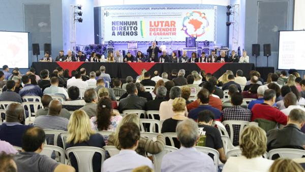 Bancários e bancárias do Itaú, Bradesco, Santander, BMB e do CCB Brasil participaram do evento em São Paulo - Foto: Jaílton Garcia/Contraf-CUT