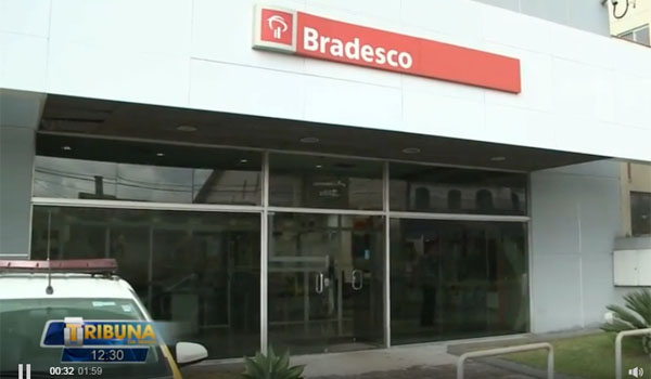 A tentativa de assalto à agência 10 de Dezembro foi a oitava ocorrência envolvendo bancos este ano na base de Londrina