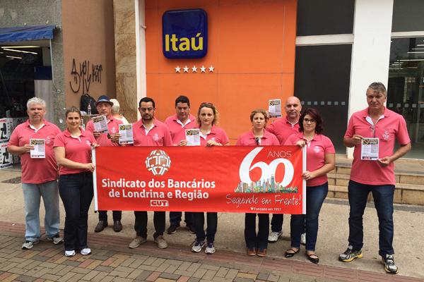 A atividade do Sindicato de Londrina destaca a importância da prevenção das LER/DORT