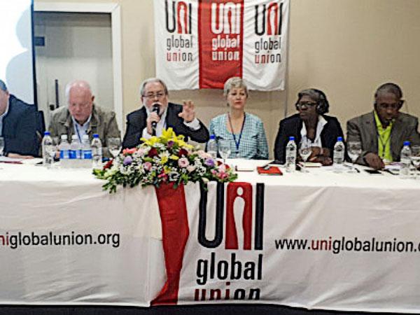 A Contraf-CUT participa da  XIII Reunião Conjunta das Redes Sindicais de Bancos Internacionais