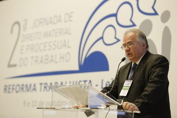 O ministro Maurício Godinho Delgado criticou as mudanças feitas na legislação trabalhista - Foto: Alessandro Dias