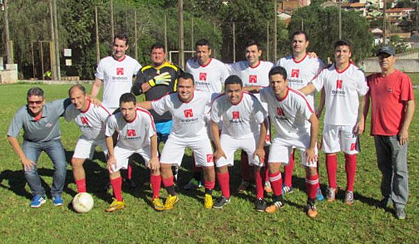 A equipe do Bradesco de Santa Mariana foi campeã do Torneio do Trabalhador Bancário de 2017