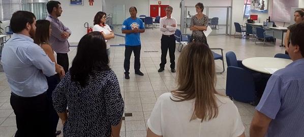 Reunião na agência Terra Bela ressaltou a importância da participação de todos na luta em defesa da Caixa