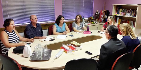 A reunião com a Regional do Banco do Brasil foi realizada no dia 13/11 na sede do Sindicato de Londrina