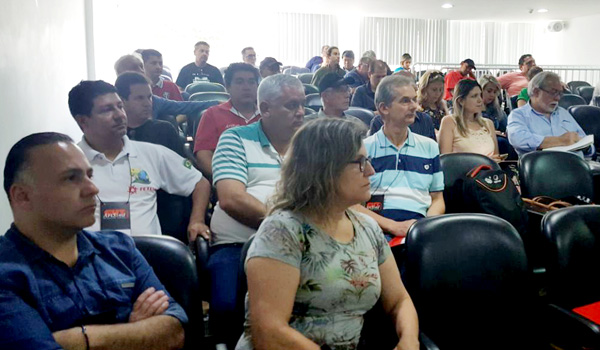 Dirigentes dos Sindicatos do Vida participam da Conferência da ArtBan em Curitiba