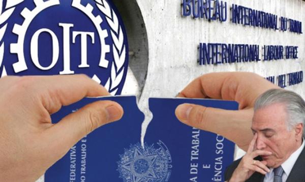 Violações de direitos previstos em lei pesaram na decisão para incluir o Brasil na lista -  Arte: Edson Rimonatto/CUT