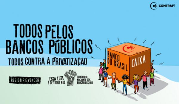 Nesta quinta (5/07) tem Dia Nacional em Defesa das Empresas Públicas