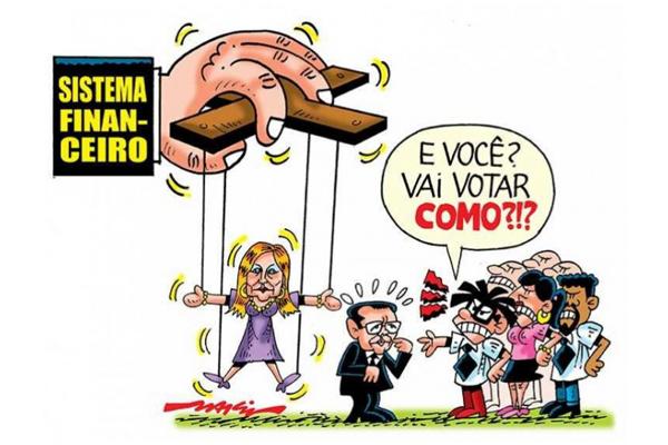 Charge: Marcio Baraldi/SPBancarios