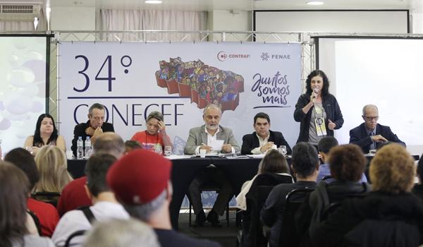 Debatedores criticaram os ataques que o governo Temer vem fazendo contra a Funcef e os prticipantes