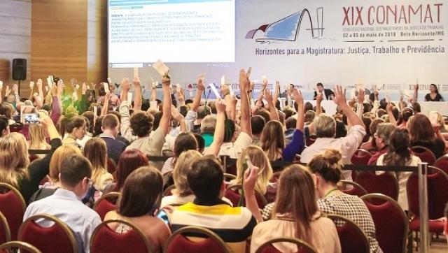 O evento realizado dia 5/05, em em Belo Horizonte (MG),  reuniu magistrados do trabalho de todo o País