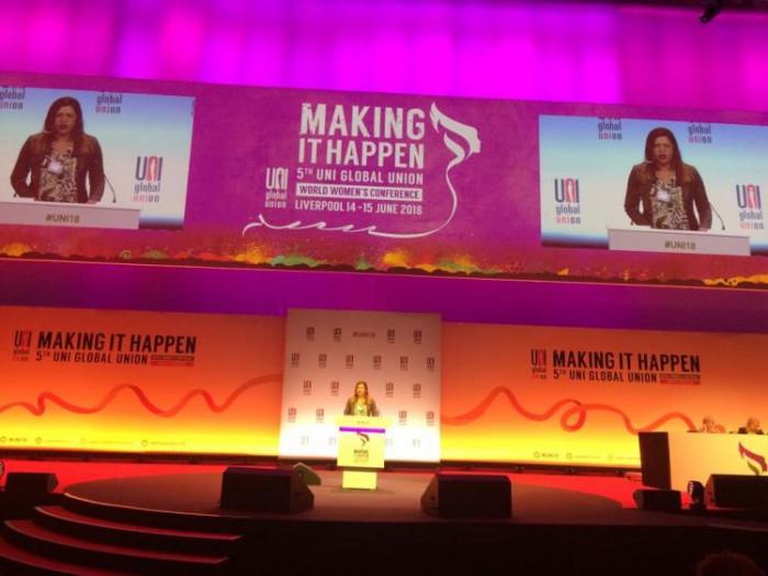 O evento reuniu 451 mulheres sindicalistas de 66 países