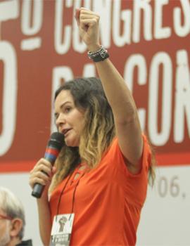 Juvandia Moreira estará no comando da Contraf-CUT durante a gestão 2018/2022