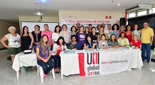 A Oficina teve a participação de representantes de diversas entidades sindicais - Foto: UGT