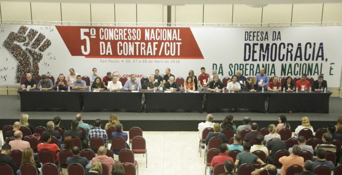 O 5º Congresso Nacional da Contraf-CUT vai definir o plano de lutas da categoria e eleger a direção da entidade para os próximos três anos