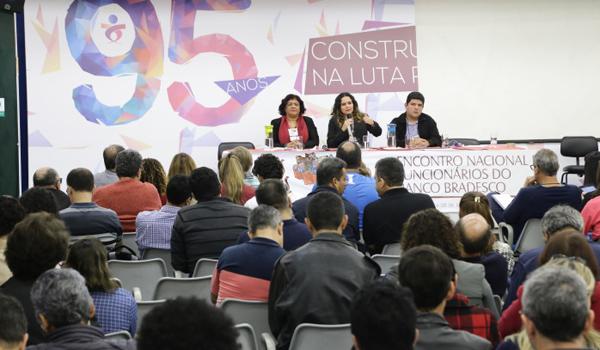 O Encontro Nacional dos Funcionários do Bradesco definiu as reivindicações específicas - Foto: Jailton Garcia/Contraf-CUT