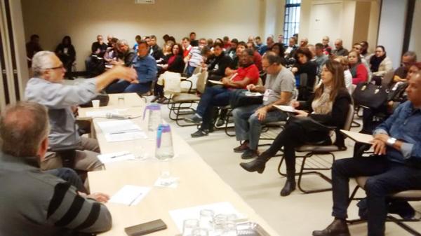 Encontro dos funcionários do Santander debateu em dois dias as reivindicações específicas